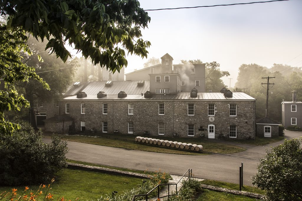 Woodford Reserve Distillery. A work of art, inside and out.