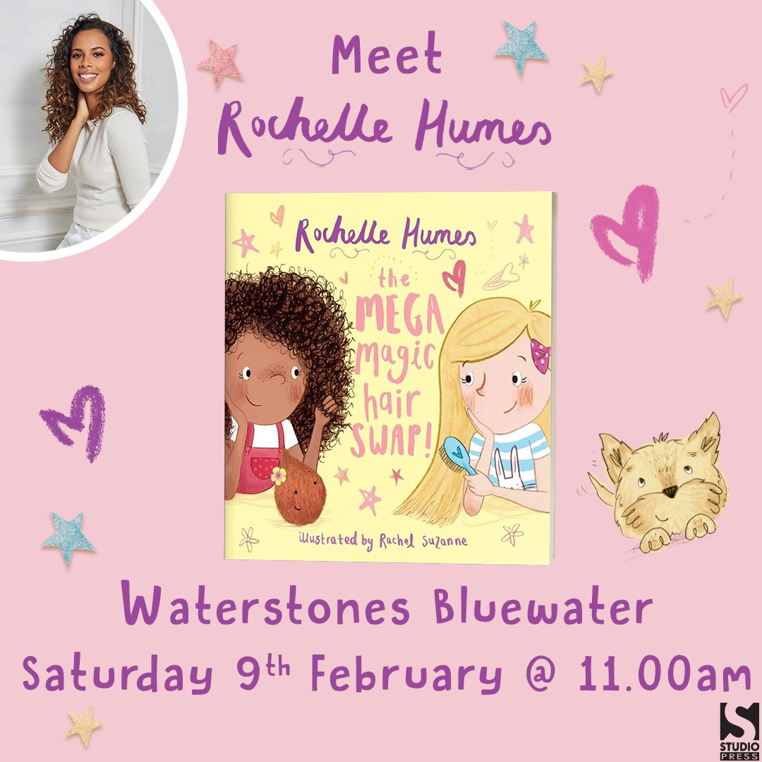 Don't forget to come and see me at @WaterstonesBluewater tomorrow where I'll be doing my first book signing! 💖✨👩🏽🦱👩🏼🥥   https://t.co/RpIMwyQRYo