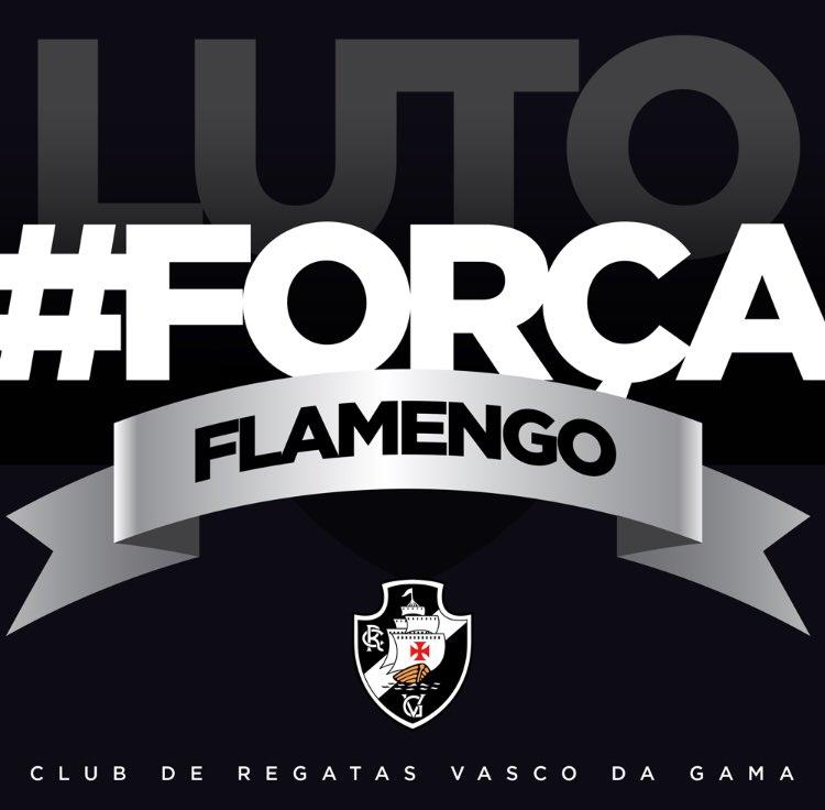O CRVG lamenta profundamente o trágico incêndio no CT do @Flamengo.   A Dir. Administrativa manifesta pesar e solidariedade aos familiares das vítimas, bem como à Direção e a todos os atletas do CRF.  Colocamo-nos à disposição para auxiliar no que for necessário.    #ForçaFlamengo
