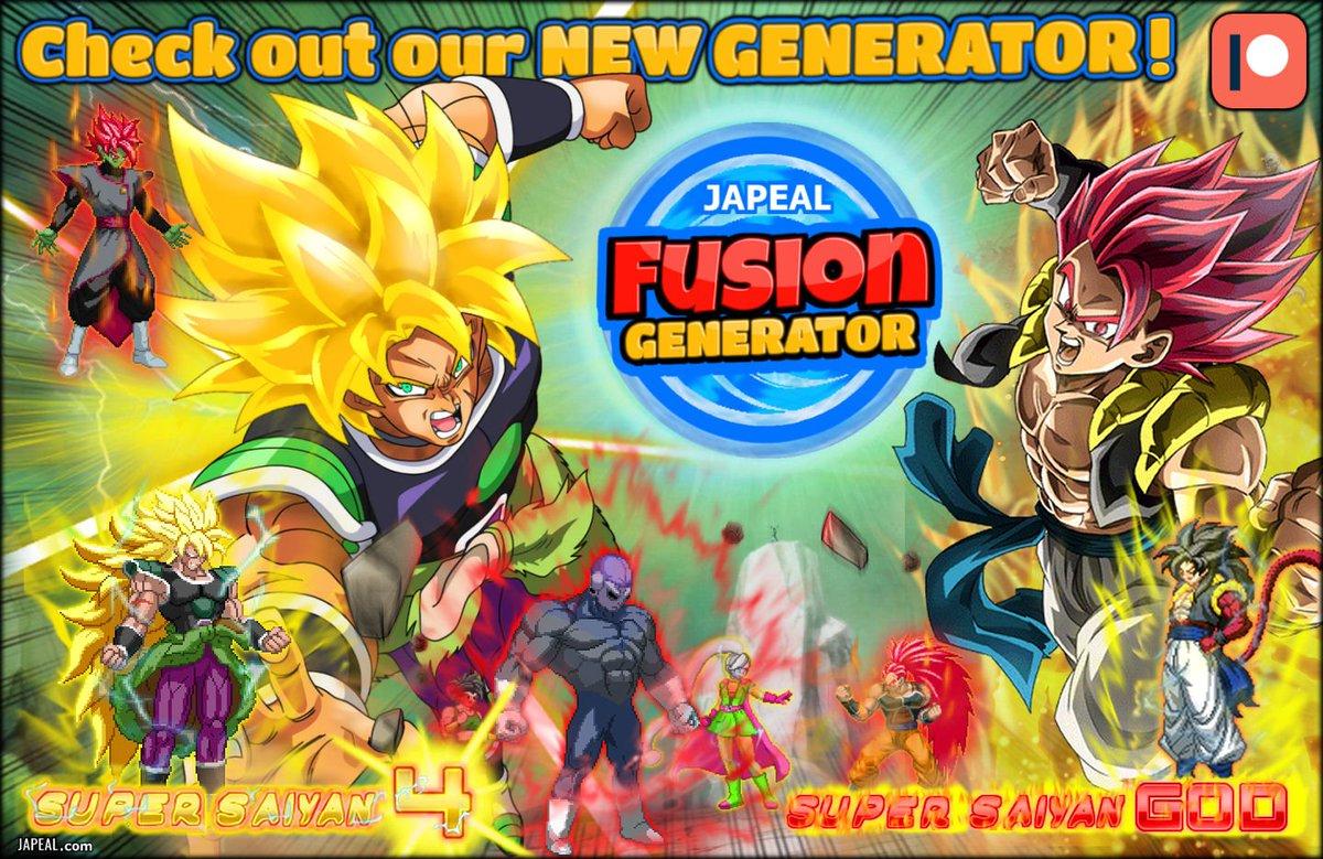 Dbz Fusion Generator At Dbfgenerator Twitter