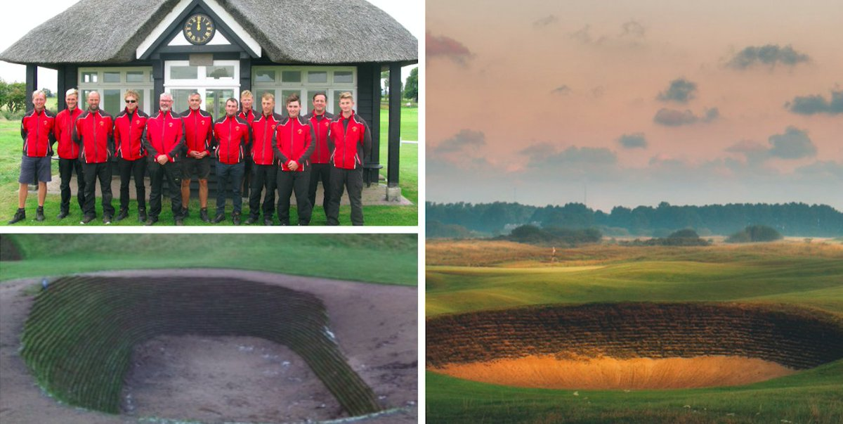 Sustainable Bunker Building 🏴󠁧󠁢󠁥󠁮󠁧󠁿 At this time of year, many links courses are rebuilding revetted #bunkers   @TheOpen venue in 2020 @RoyalStGeorges1 shares how they make this process more #sustainable : http://bit.ly/royalsgbunkers   #sustainablegolf #getoncourse