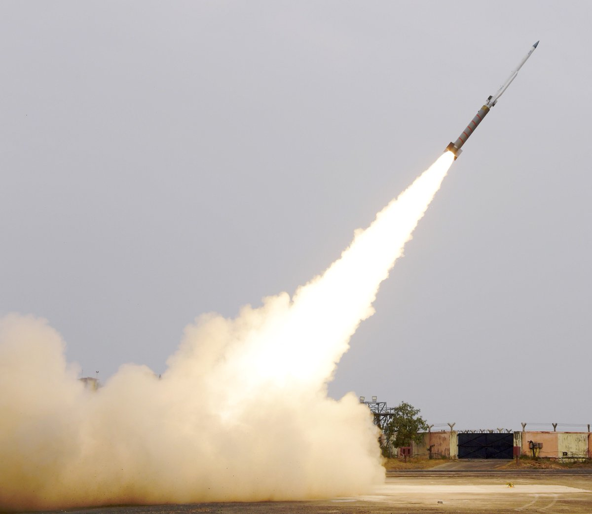 India Tests Solid Fuel Ducted Ramjet propulsion based missile system