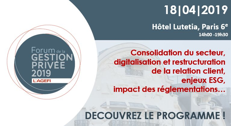 Still a couple of weeks to go, nevertheless we're very much looking forward to coming to Paris and speaking at the #ForumGestionPrivee on April 18th. Ping us, if you're around and interested in meeting our CEO @chbartz or our Director International @NiallNilo78