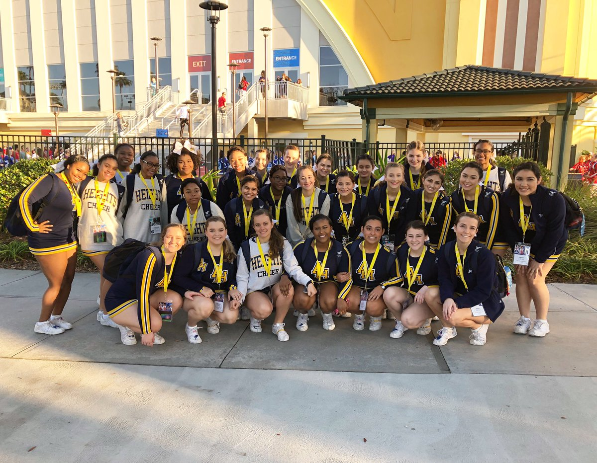The time has come !!!! We are here & ready to compete ! 🐝⭐️🐝⭐️🐝 #ucanationals2019