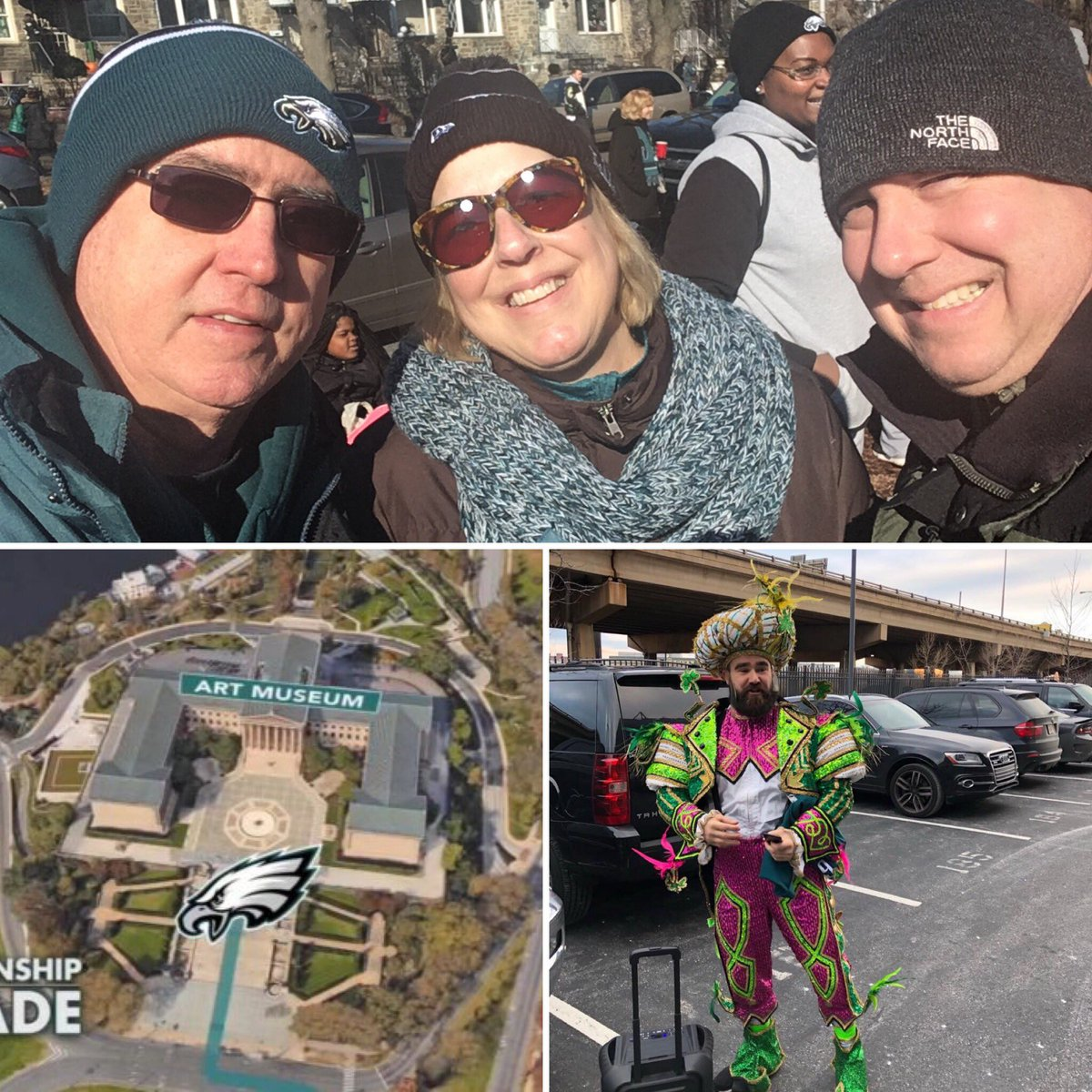 One year ago today...Epic!!! #FlyEaglesFly