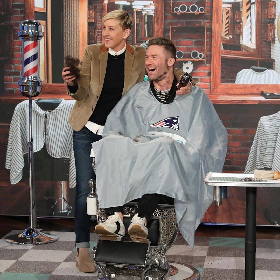 Patriotsnation 2 On Twitter Ellen Degeneres Shaves Off