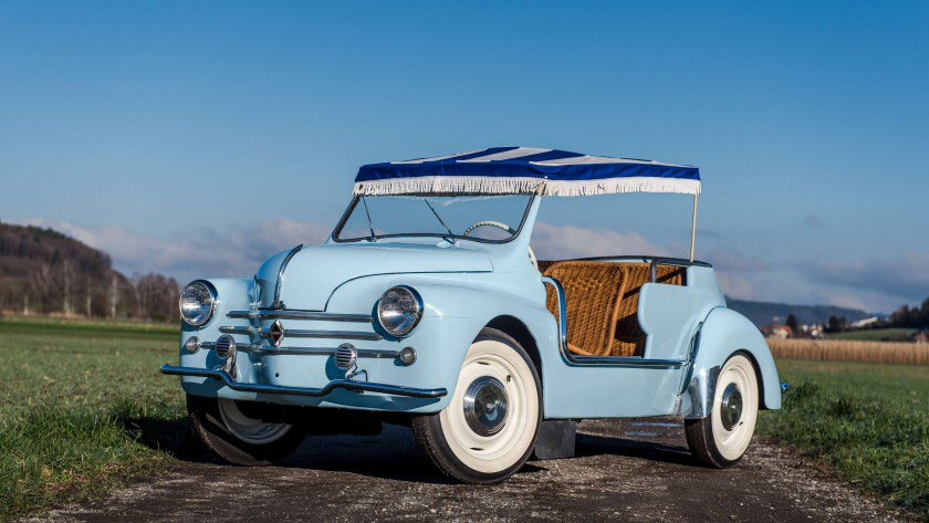 Artcurial On Twitter Auctionupdate The Lot 103 A 1961 Renault 4cv