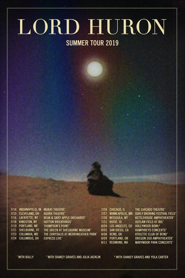 Lord Huron Tour 2020.Lord Huron On Twitter Folks This Train Is Leaving The