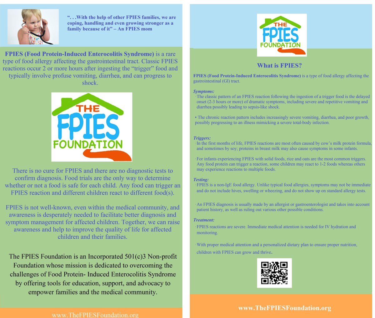 The Fpies Foundation Fpiesfoundation Twitter