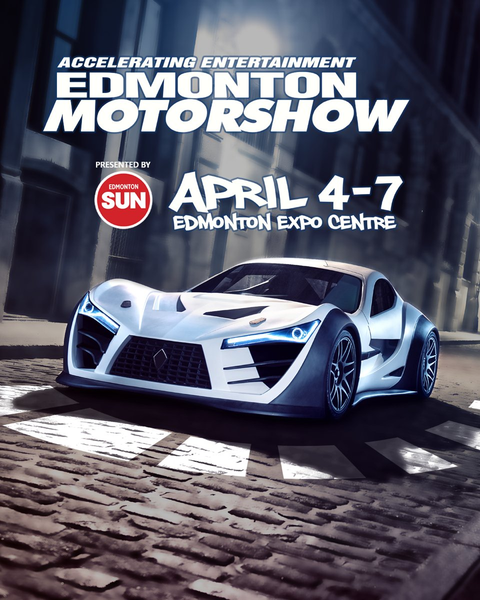 Looking forward to the Edmonton Motor Show this year!  #yeg #yegmedia