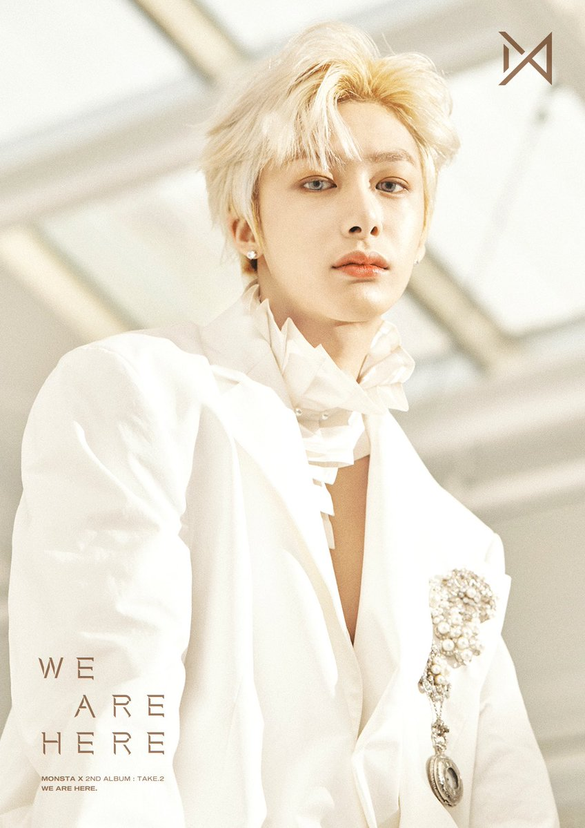 Koreanupdates On Twitter Boys Look Ethereal In All White Monstax Releases 2nd Batch Of Group And Hyungwon Im Concept Photos For Their Upcoming 2nd Album We Are Here Out On February 18 Koreanupdates Rz