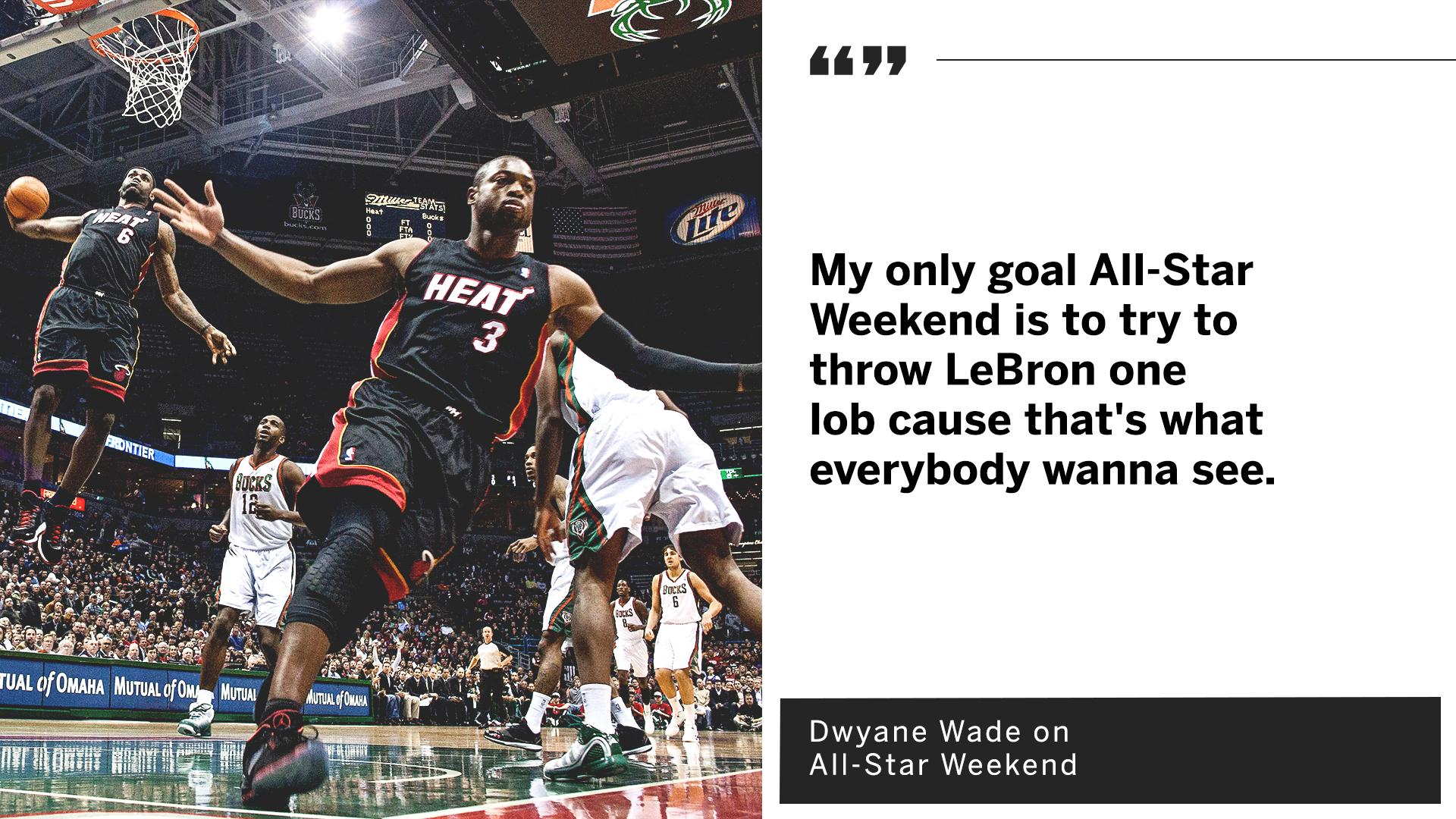 .@DwyaneWade and @KingJames together one last time �� https://t.co/34J3Ui80H3