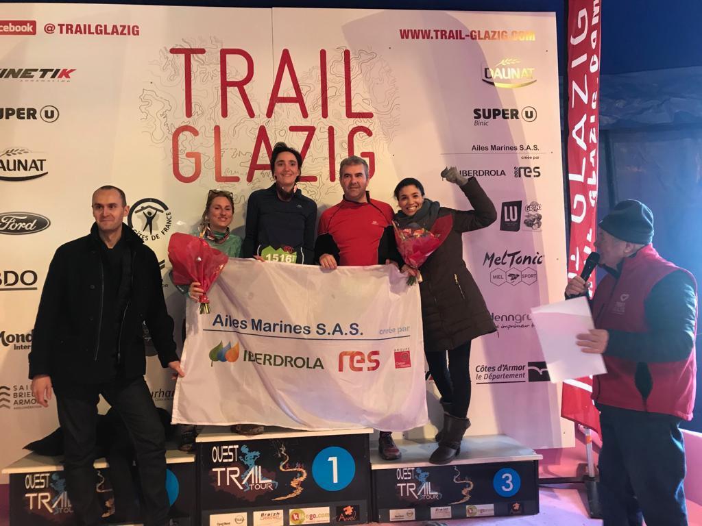 Retour sur un WE très sportif à l'occasion du @trailglazig 2019 ! 👟 L'occasion pour l'équipe de présenter notre projet #éolien au public et de prendre part à différentes courses (5-12-56k). Encore merci aux organisateurs et RDV à l'année prochaine à #Plourhan !
