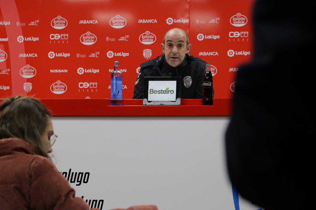 Monteagudo, en una rueda de prensa (Foto: CDL).