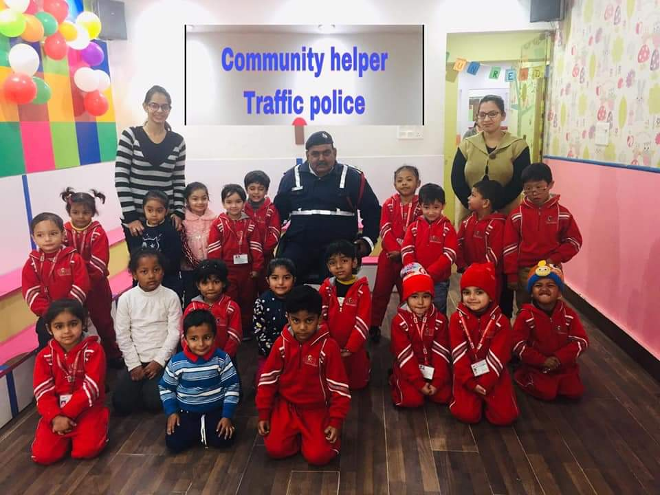 Traffic Police Community Helper