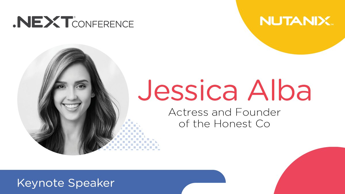Summer Conference Keynoted By Jessica >> Nutanix Inc On Twitter The One And Only Jessica Alba Is An