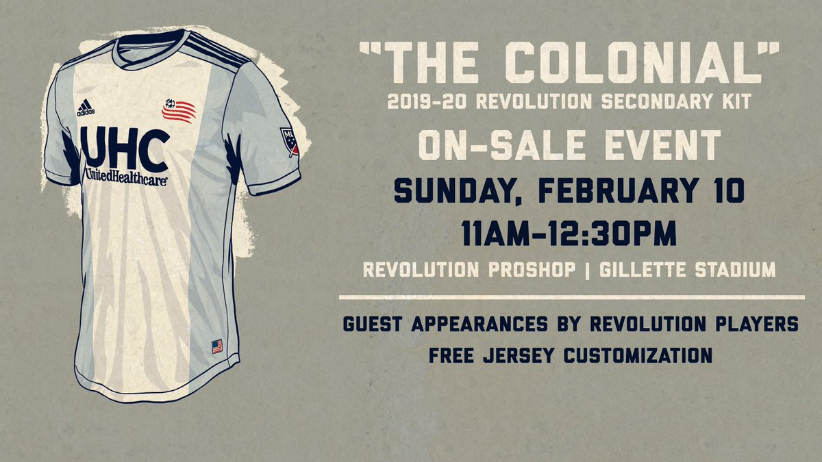 check out 2ad73 10fe2 New England Revolution on Twitter: