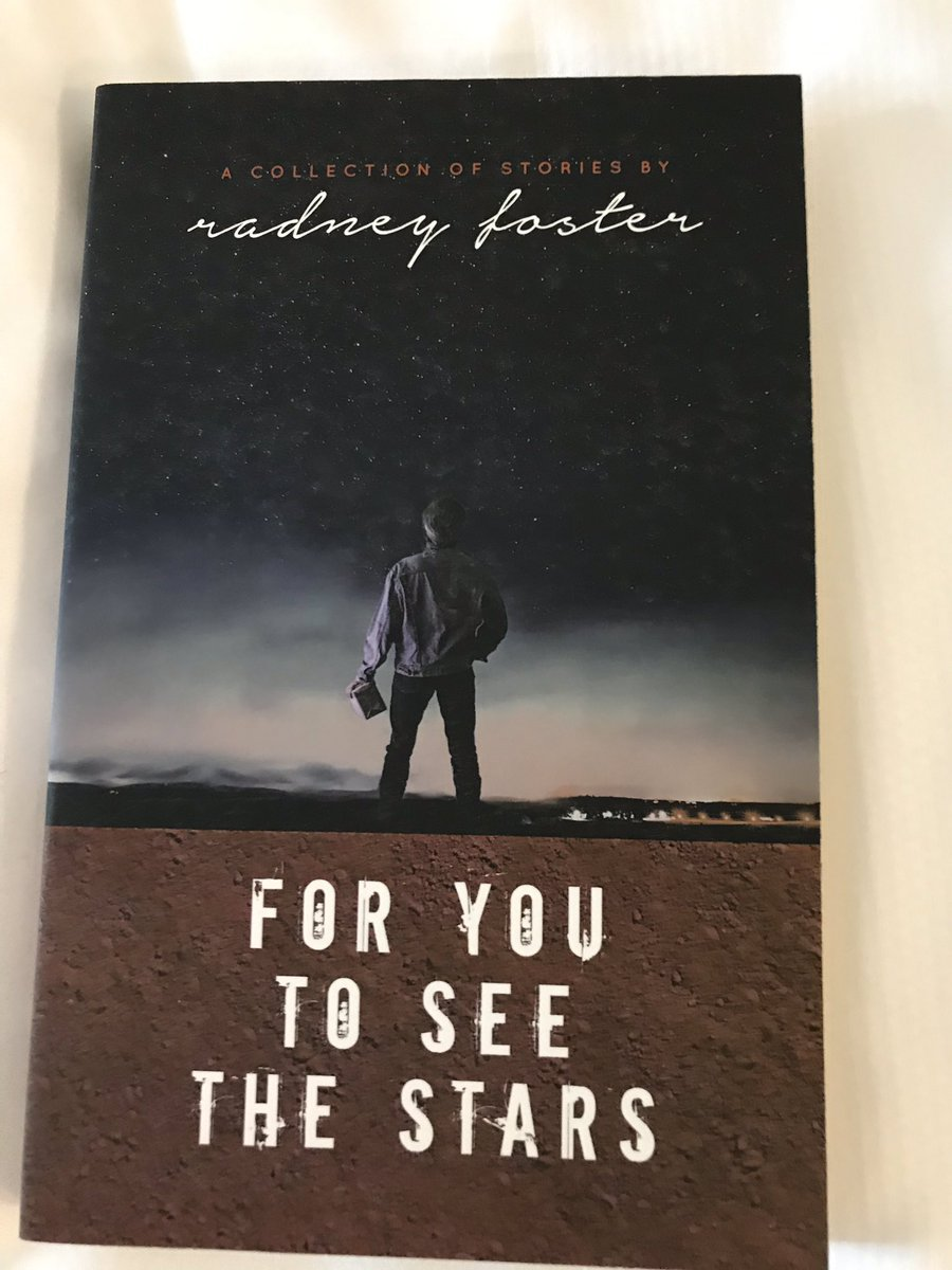 Awesome performance last night by @RadneyFoster in Winston-Salem!  Thank much for signing your book for me, @bsmccool @thedanley and our cat Radney who was named in your honor! Can't wait to read the short stories and listen to the songs.