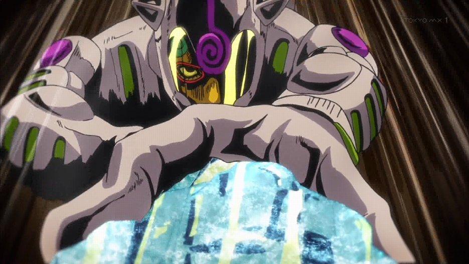 アニメだとテンポ早いけど原作だと不死身かよってくらいタフなギアッチョ #jojo_anime #tokyomx https://t.co/0CdO3OiCy8