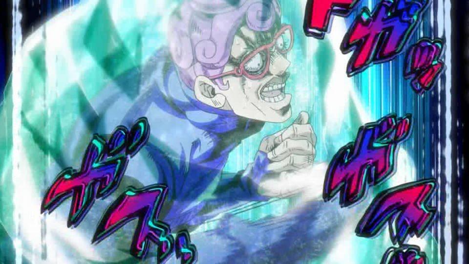 こいついっつもブチギレてんな #jojo_anime https://t.co/ra8VPTsDZ8
