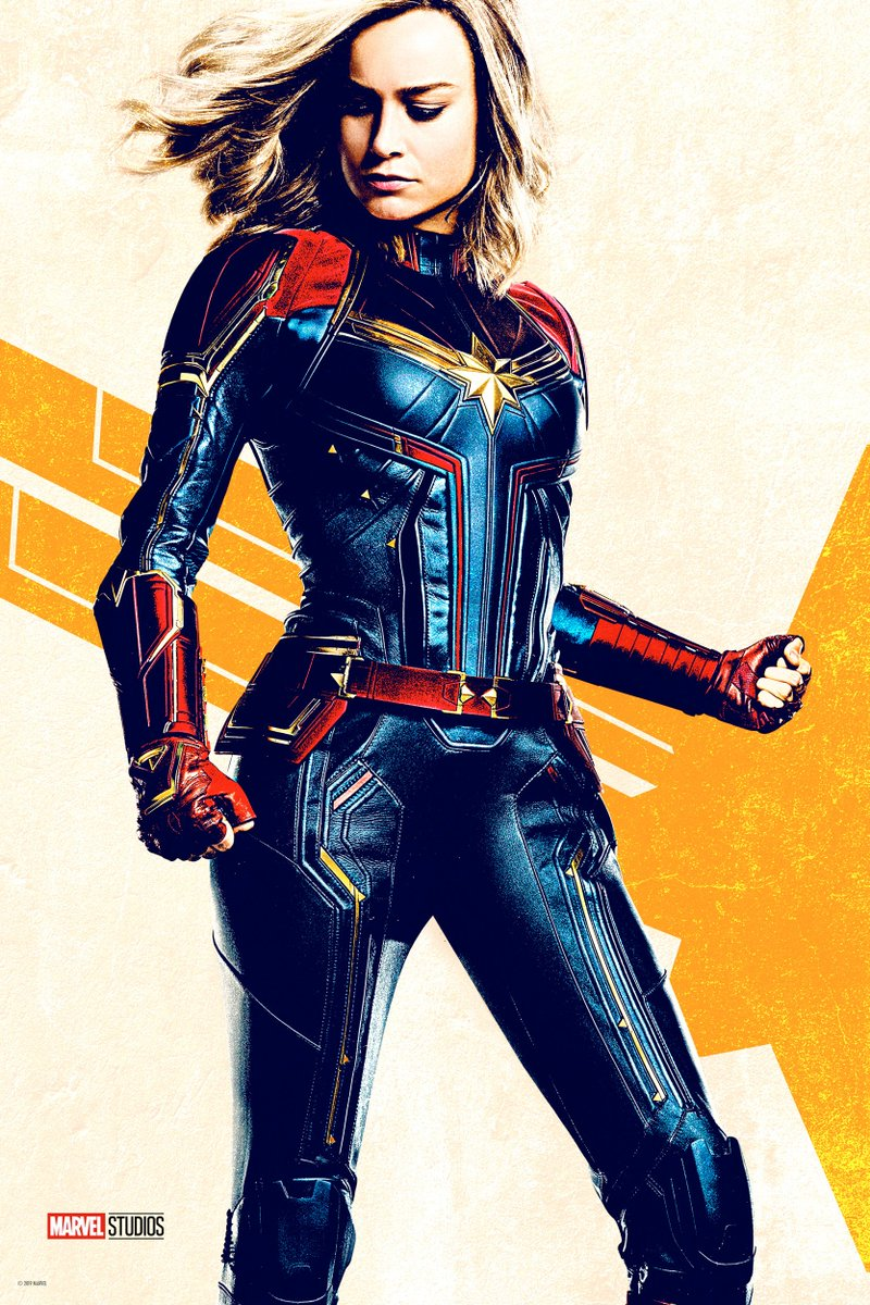 Marvel Studios' #CaptainMarvel soars into theaters in one month. Get tickets now: http://www.Fandango.com/CaptainMarvel