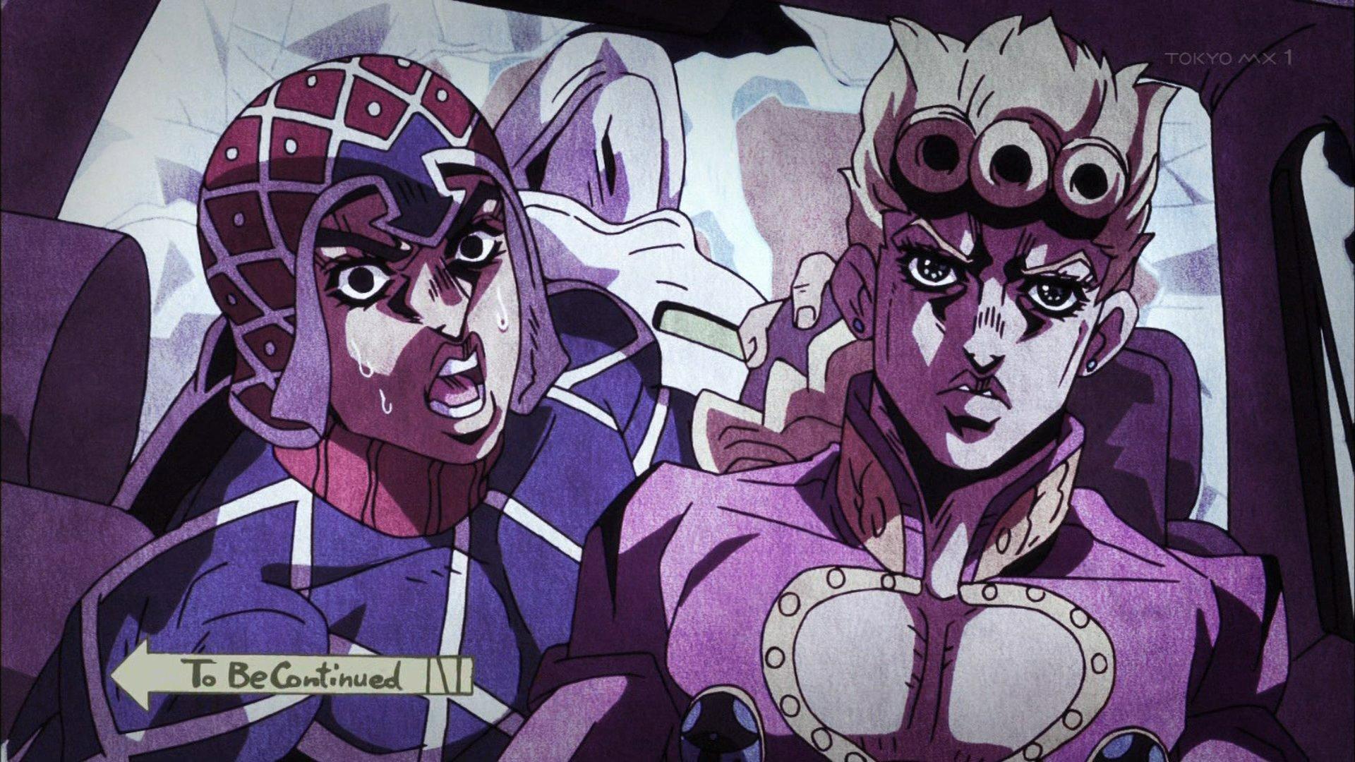 良いところで終わり! #ジョジョ #jojo_anime https://t.co/SGUWEA986t