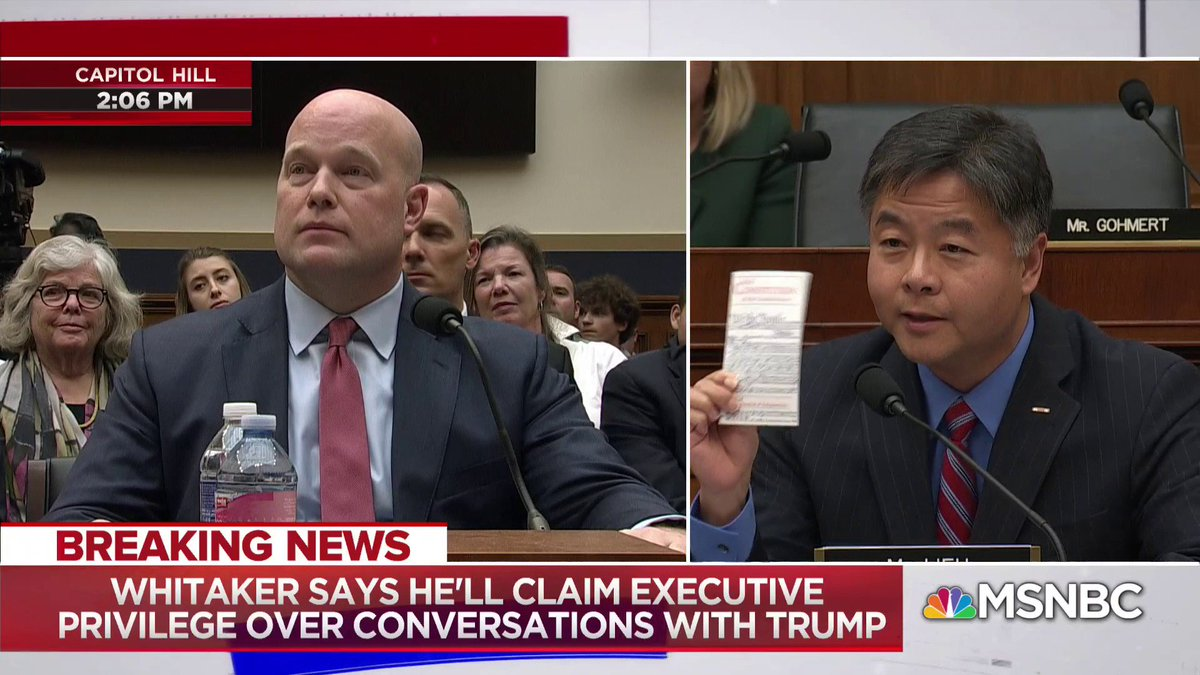 Thank you @tedlieu for making it clear to:  @realDonaldTrump @DonaldJTrumpJr @IvankaTrump @jaredkushner @EricTrump  That there's no sentence in the constitution that says they can't be indicted. The #TrumpCrimeFamily is not above the law.