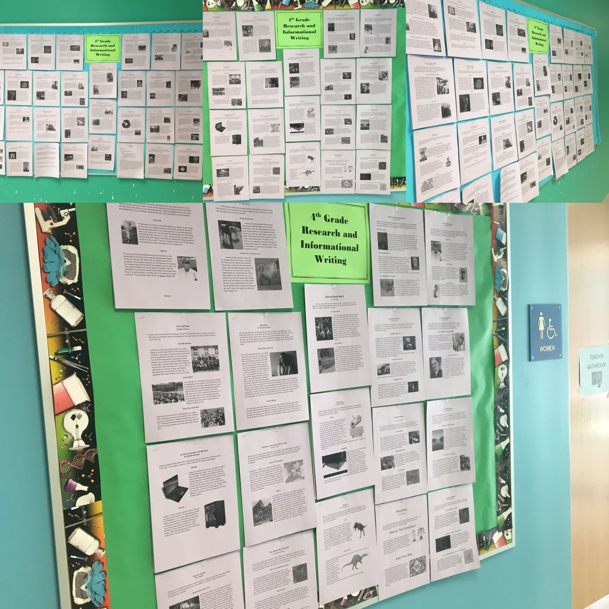 Want to know more about The Loch Ness, Babe Ruth, Earthquakes, The Bermuda Triangle? Check out 4th Grade Research and Informational writing pieces outside Ms Sevier's classroom📝📝<a target='_blank' href='http://twitter.com/GlebeAPS'>@GlebeAPS</a> # GlebeEagles<a target='_blank' href='http://twitter.com/glebe4thgrade'>@glebe4thgrade</a> <a target='_blank' href='https://t.co/chMLJMhGlF'>https://t.co/chMLJMhGlF</a>