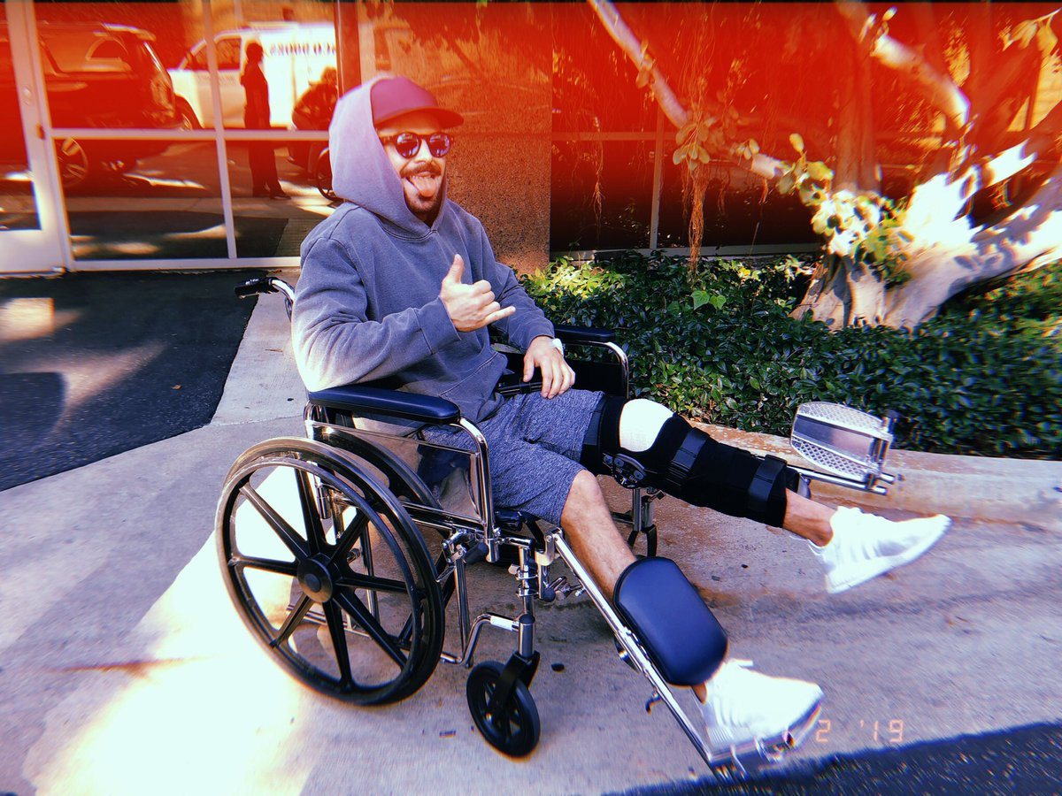 I tore my ACL shredding the gnar⛷ :/ but all is good. I opted for surgery so I can come back stronger than ever. Thank you to Dr. Kvitne and his team at Kerlan-Jobe Surgery Center. I'll keep you updated as I heal and progress! Thanks for all the love and positivity!