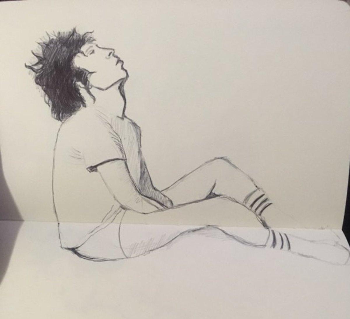amazing sketch by @t_witter_handle for fan art friday https://t.co/1PLGjnn39b