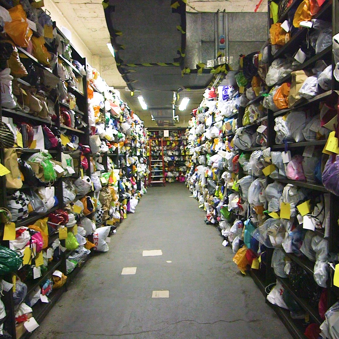 How Transport for London organizes 340,000 lost items found on the Underground, Overground, buses, and trains