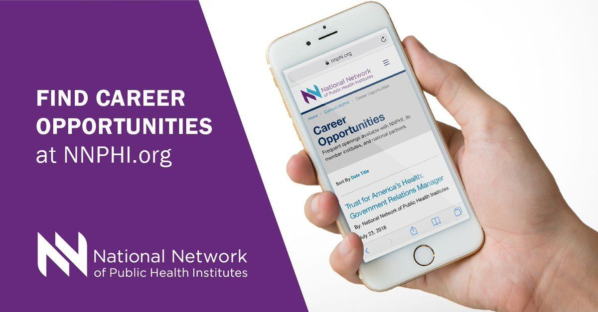 Looking for great career opportunities in public health? Check out the career opportunities page on our website for more information on available positions. Begin the next step in your career in public health at http://bit.ly/2sPAtyZ . #Careers #jobsearch