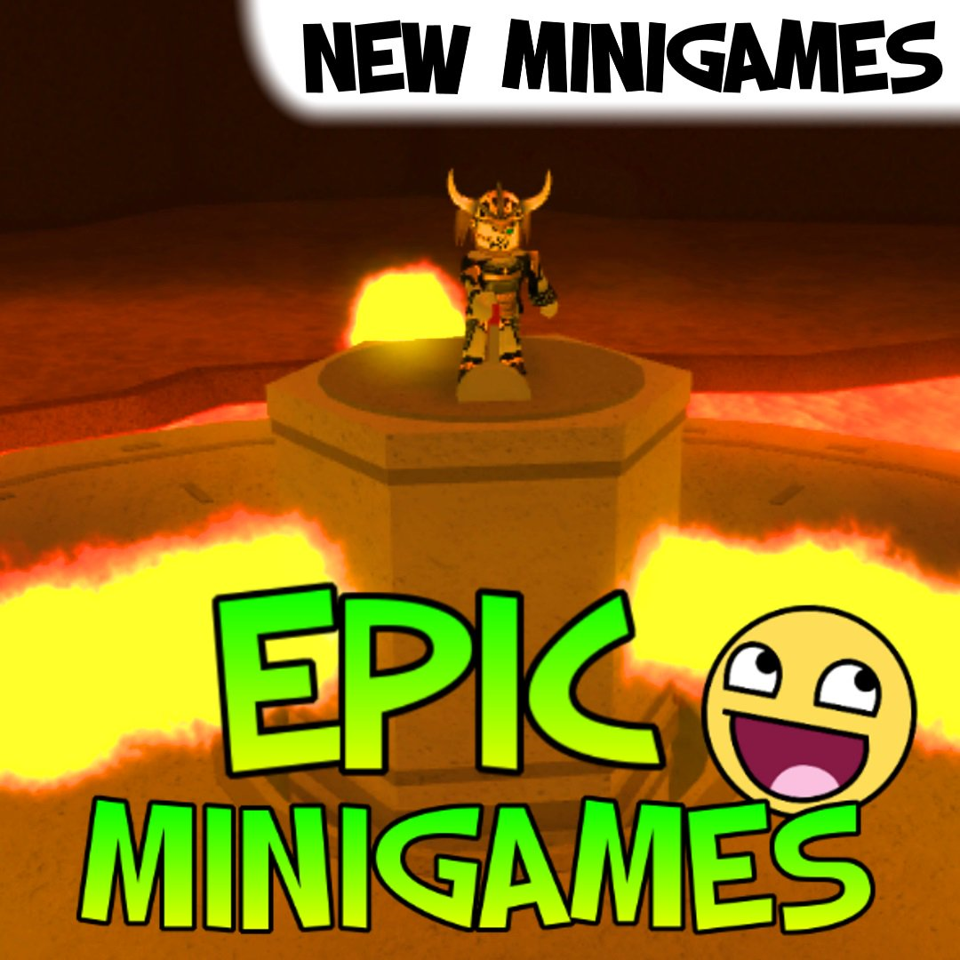 The Epic Roblox Minigames Literaterexey Roblox Games Epic Minigames Wiki
