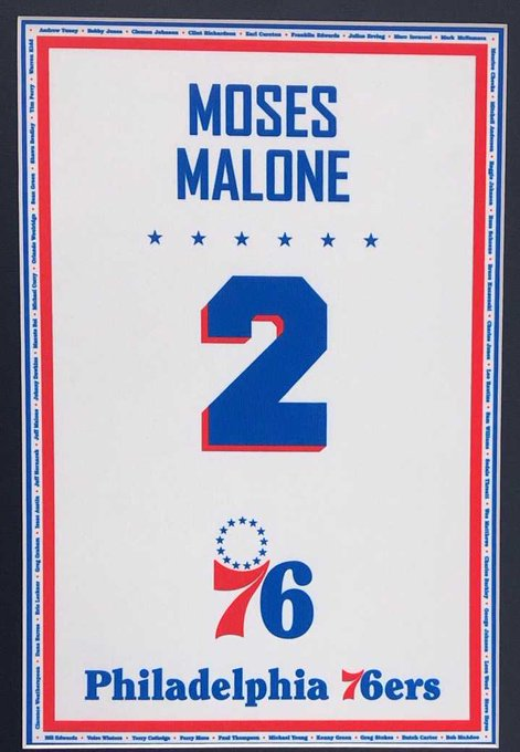 Image result for moses malone banner