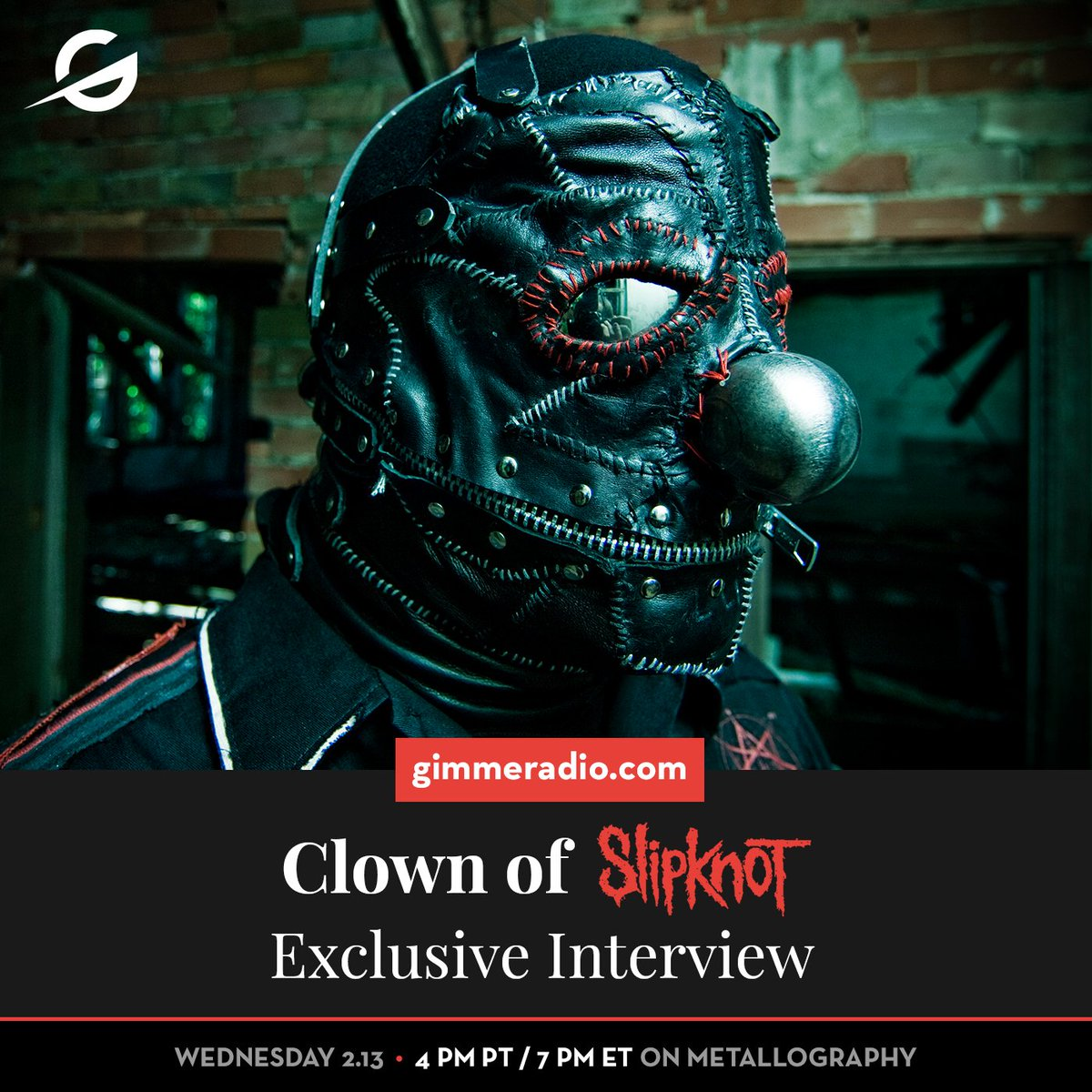 d52a1f7f7 Tune in 2/13 at 4pm PT / 7pm ET to hear him chat with Jon Wiederhorn on the  latest 'Metallography'. #slipknot #metallography  #gimmeradiopic.twitter.com/ ...