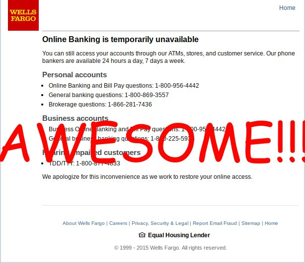 Wells Fargo customers say they are still experiencing outages