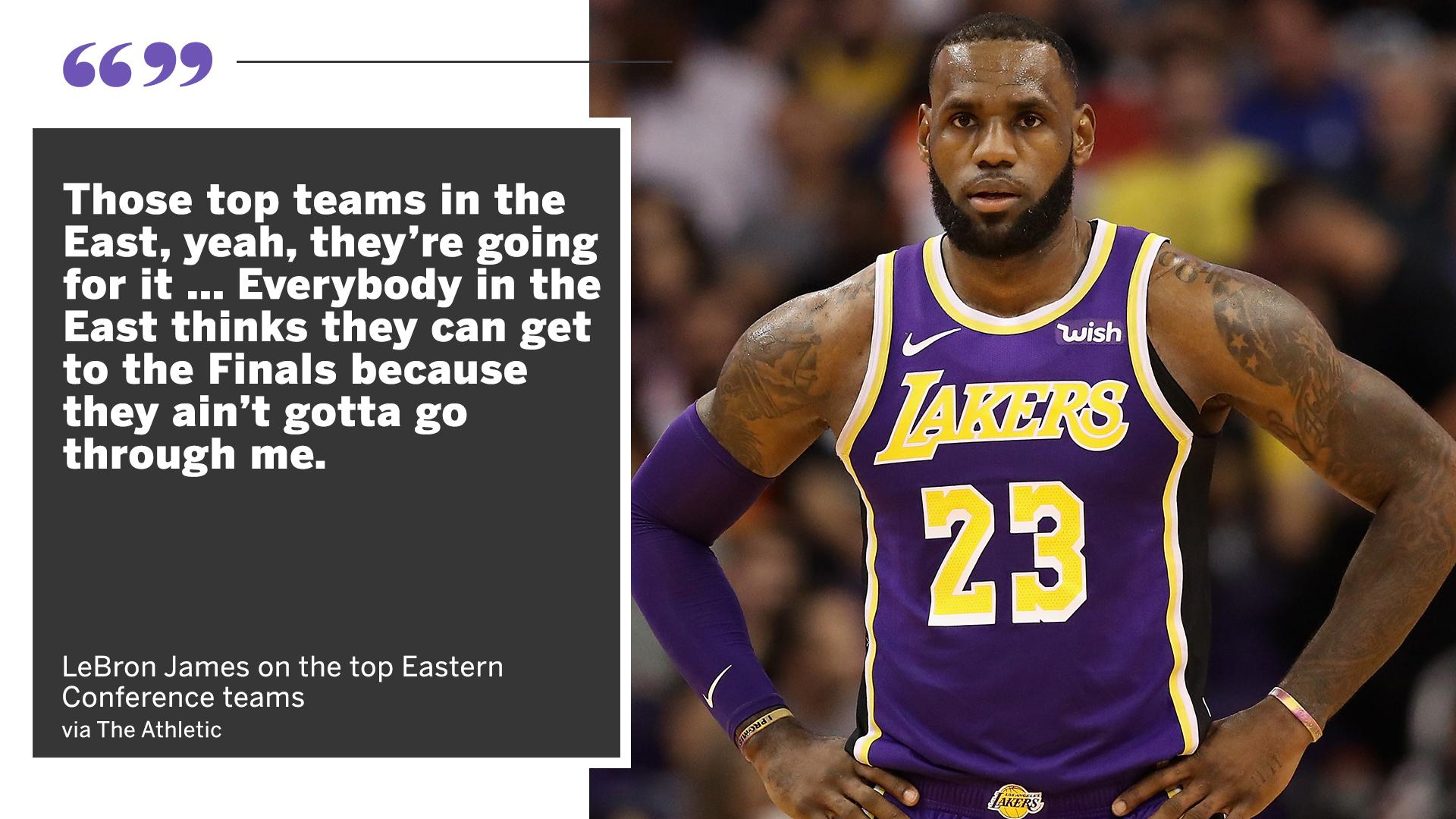 It's a different East without LeBron. https://t.co/o7HWHbG2GS