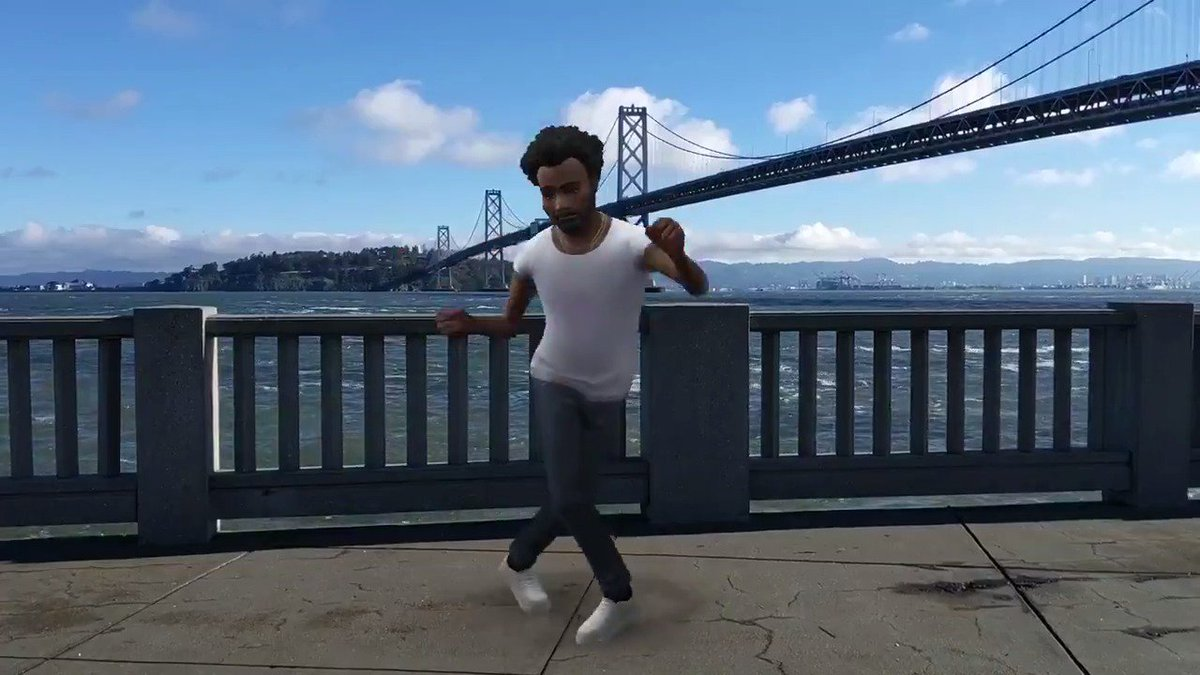You can now let Childish Gambino dance into your photos and videos—and even have him react to your facial expressions in real time. This is ... Playground on Pixel → http://goo.gl/aNwiMt