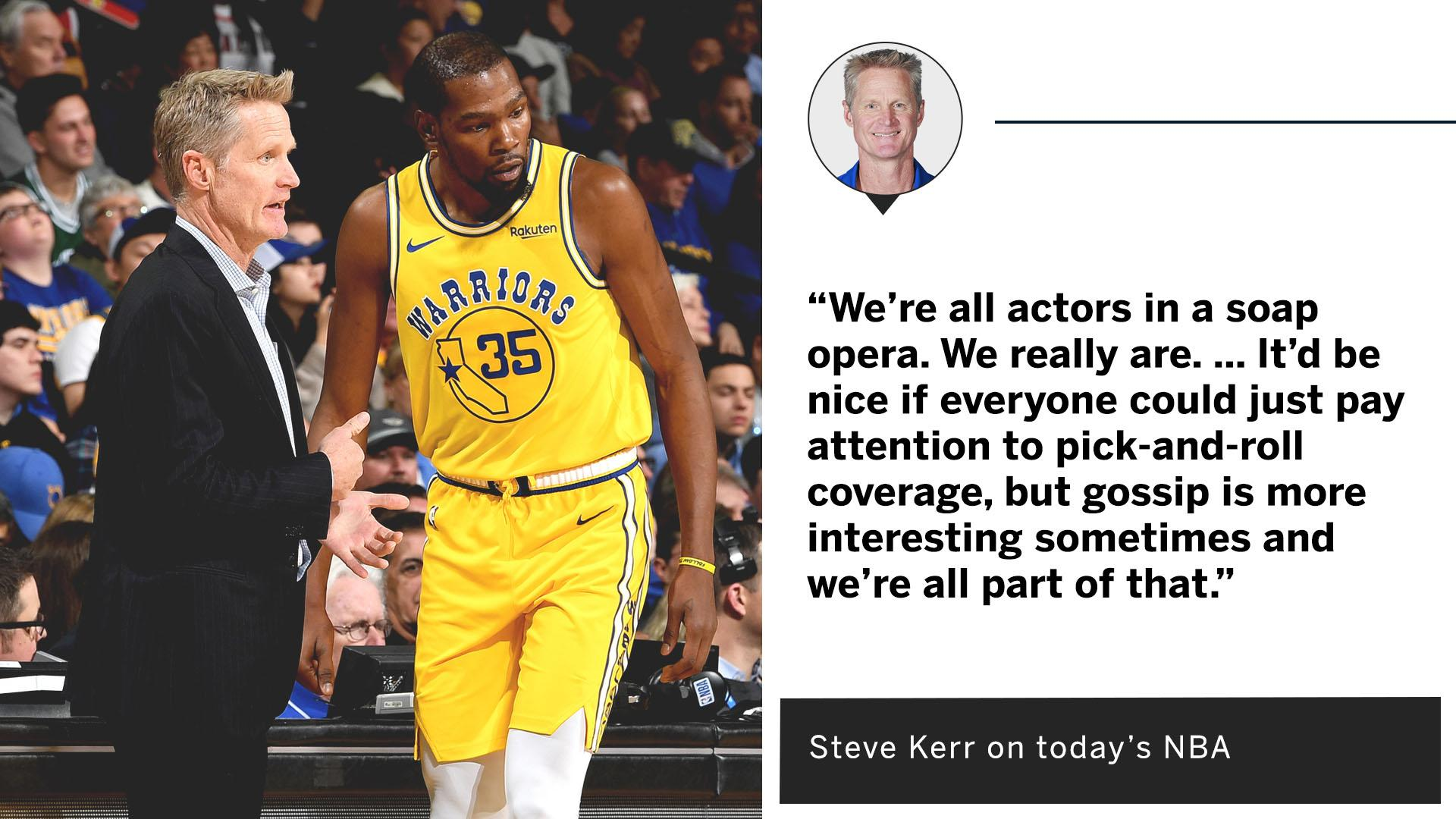 Steve Kerr puts it all into perspective. https://t.co/QHTxQwhY5E