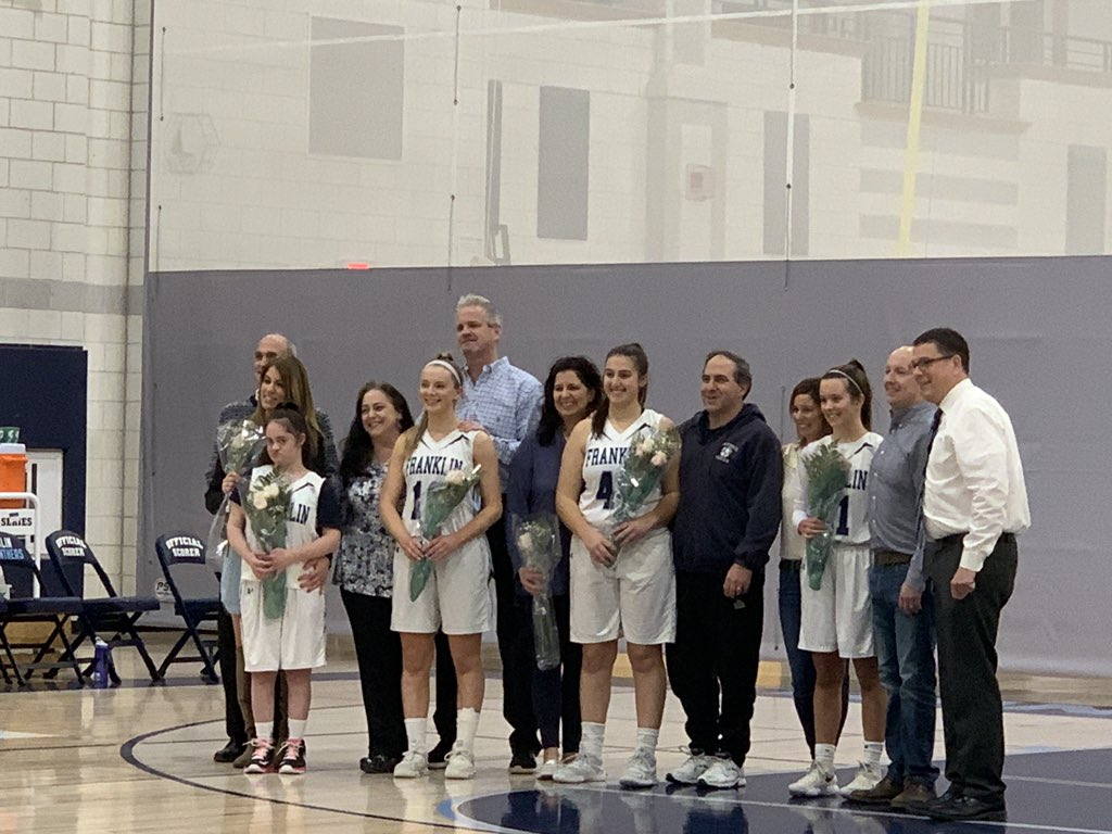 Senior night at FHS girls varsity basketball @FHSSports