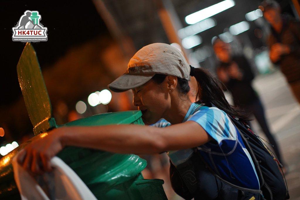 Chris Kwan Yee Ting 關綺婷 🇭🇰 survives the 2019 #HK4TUC in a time of 66:10 📷 Vincent Chan @vinvincent . . . #ultrarunning #ultramarathon #hongkong #trailrunning #maclehose #wilson #hongkongtrail #lantau #breaking60 #muiwo #muiwoferrypier