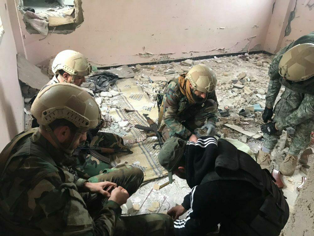 """ЧВК """"Вега"""" в Сирии"""
