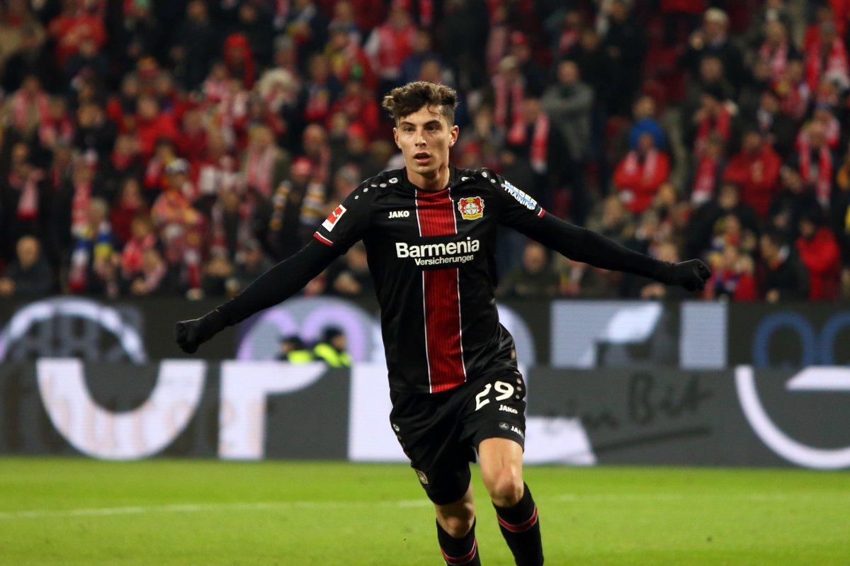 Image result for Kai Havertz (Bayer Leverkusen)
