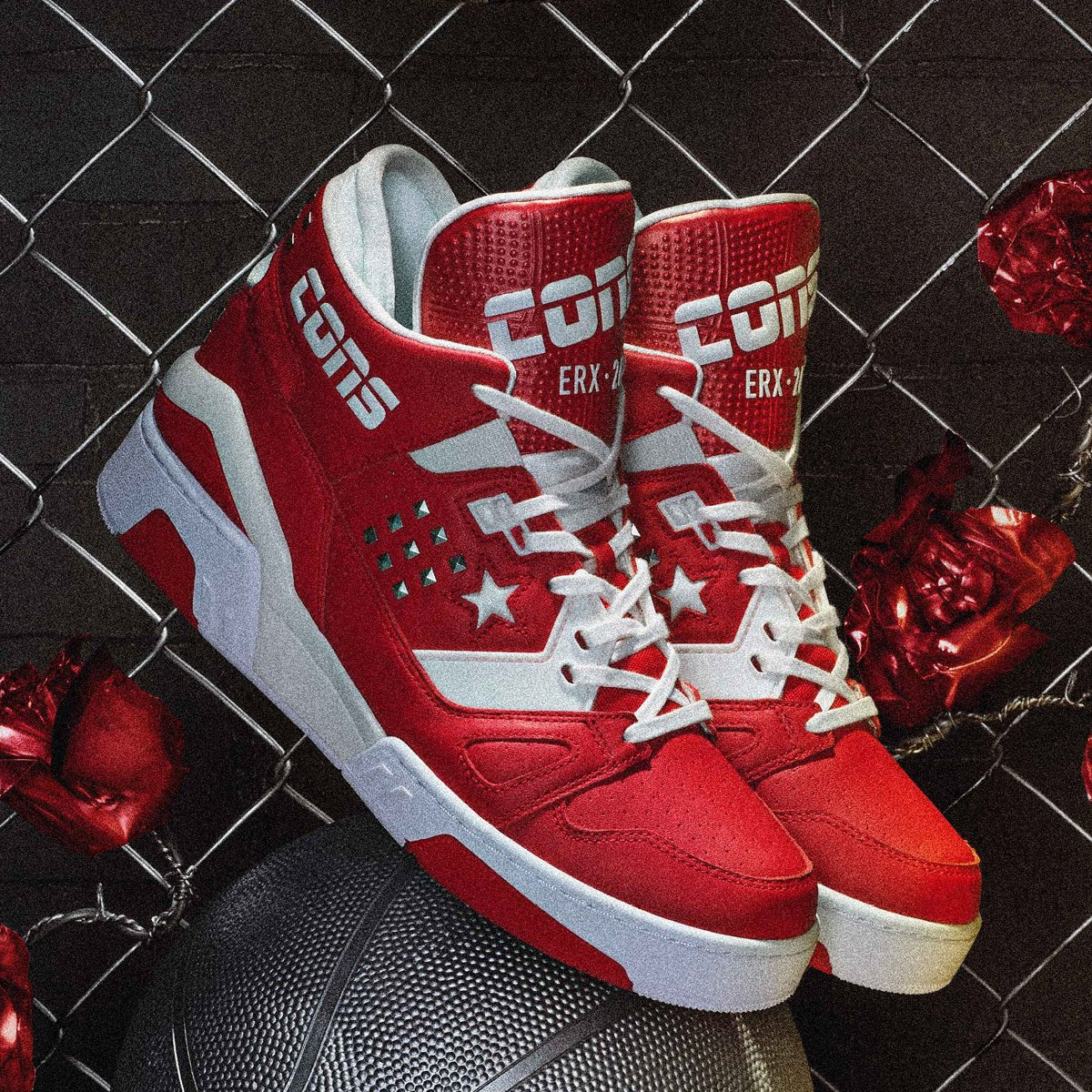 Enamel Red   Converse ERX 260 Metal Mid Now Available Online and In  Stores.   af9be8939
