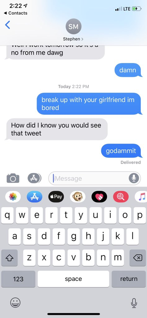 About what girlfriend text your to with 60 Cute