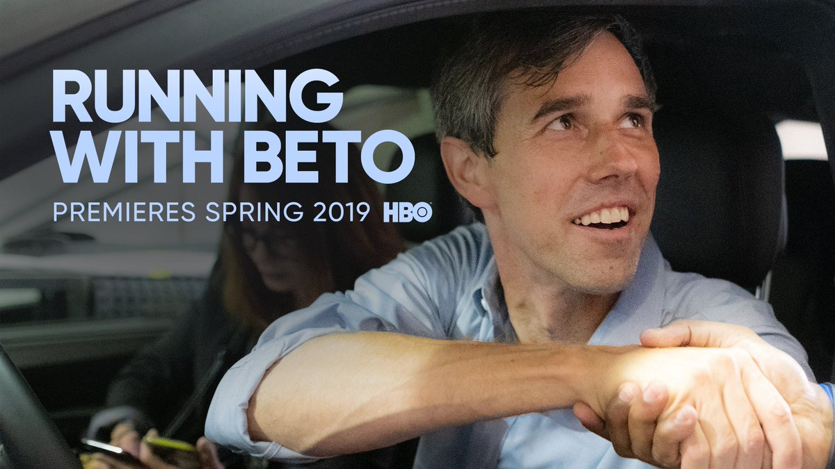 Behind the breakaway campaign. @RunningWithBeto is coming soon to #HBO. #TCA19