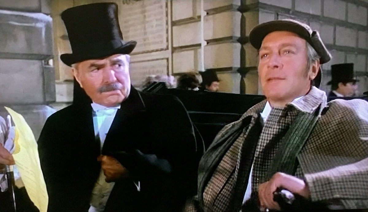 Murder By Decree The 1979 Film Starring Christopher Plummer As Holmes And James Mason Watson Opened OTD Once More Seeks Jack Ripper