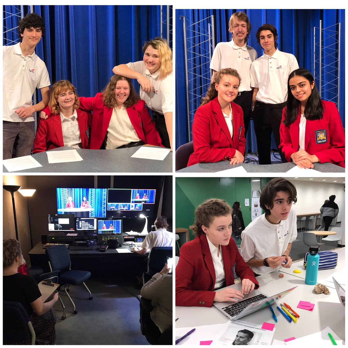 TV Prod students compete in the SkillsUSA Broadcast News contest at the ACC. <a target='_blank' href='http://twitter.com/ACC_PBL'>@ACC_PBL</a> <a target='_blank' href='http://twitter.com/arlingtontechcc'>@arlingtontechcc</a> <a target='_blank' href='http://twitter.com/CharlesRandolp3'>@CharlesRandolp3</a> <a target='_blank' href='http://twitter.com/Margaretchungcc'>@Margaretchungcc</a> <a target='_blank' href='https://t.co/LFywbSN21Q'>https://t.co/LFywbSN21Q</a>