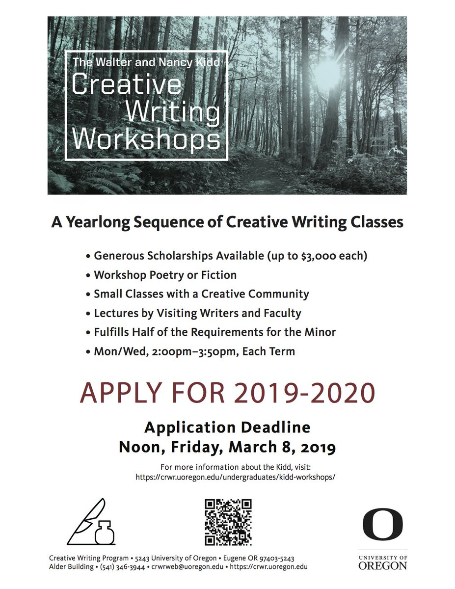 Creative Writing Minor
