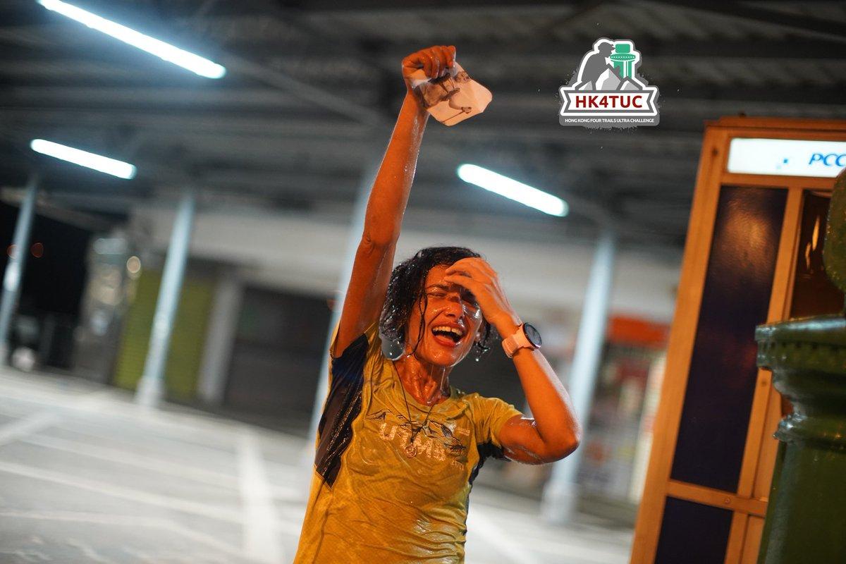 Habiba Benahmed 🇫🇷 🇭🇰 survives the 2019 #HK4TUC in a time of 68:54 📷 Vincent Chan @vinvincent . . . #ultrarunning #ultramarathon #hongkong #trailrunning #maclehose #wilson #hongkongtrail #lantau #breaking60 #muiwo #muiwoferrypier